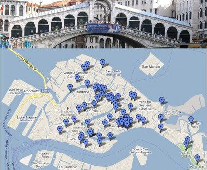 Three Romantic Walks in Venice