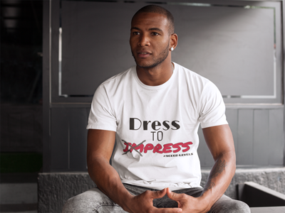 Dress To Press Tee (Men)