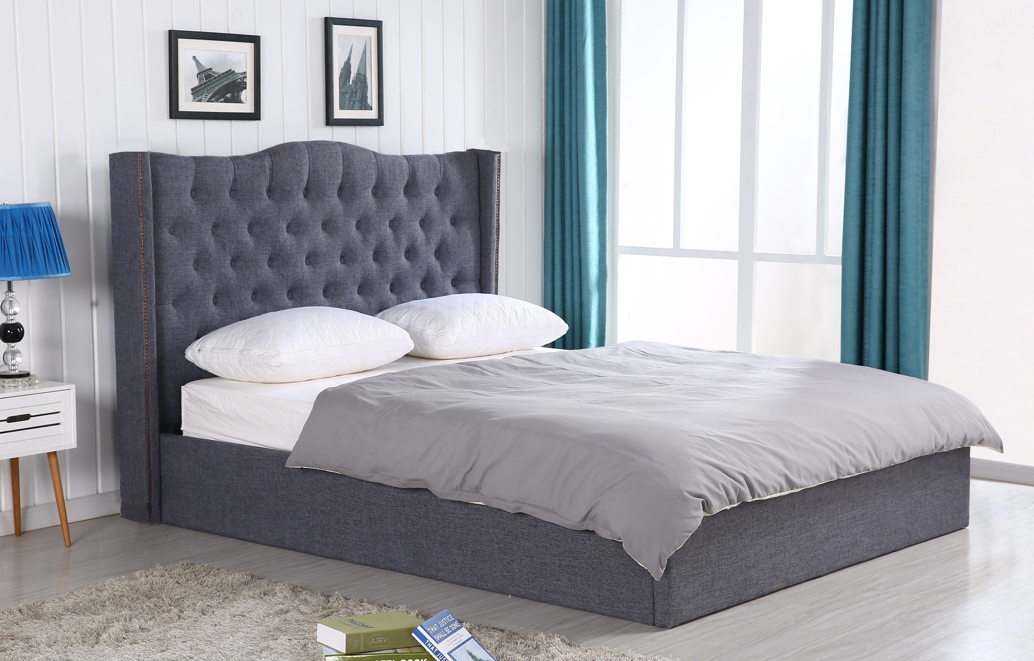 Ken Upholstered Bed