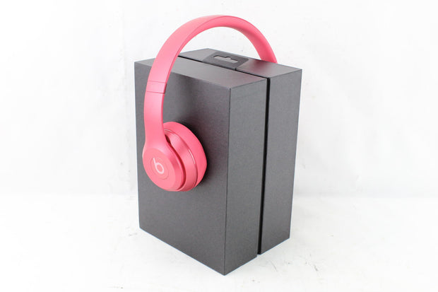 beatsolo2 by Dr. Dre Royal Edition - Headphones Model MHNV2AM/A - Blush Rose-OB