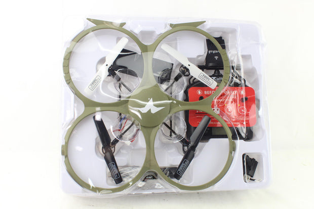 Kolibri Delta-Recon Quadcopter Drone for Kids & Adults,   Model: U818A - Like New
