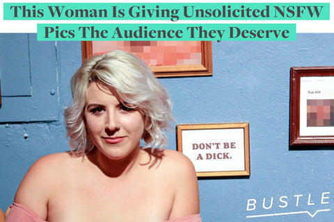 This Woman Is Giving Unsolicited NSFW Pics The Audience They Deserve