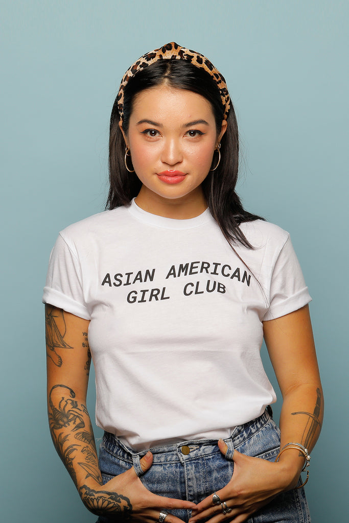 ASIAN AMERICAN GIRLS CLUB UNISEX TEE