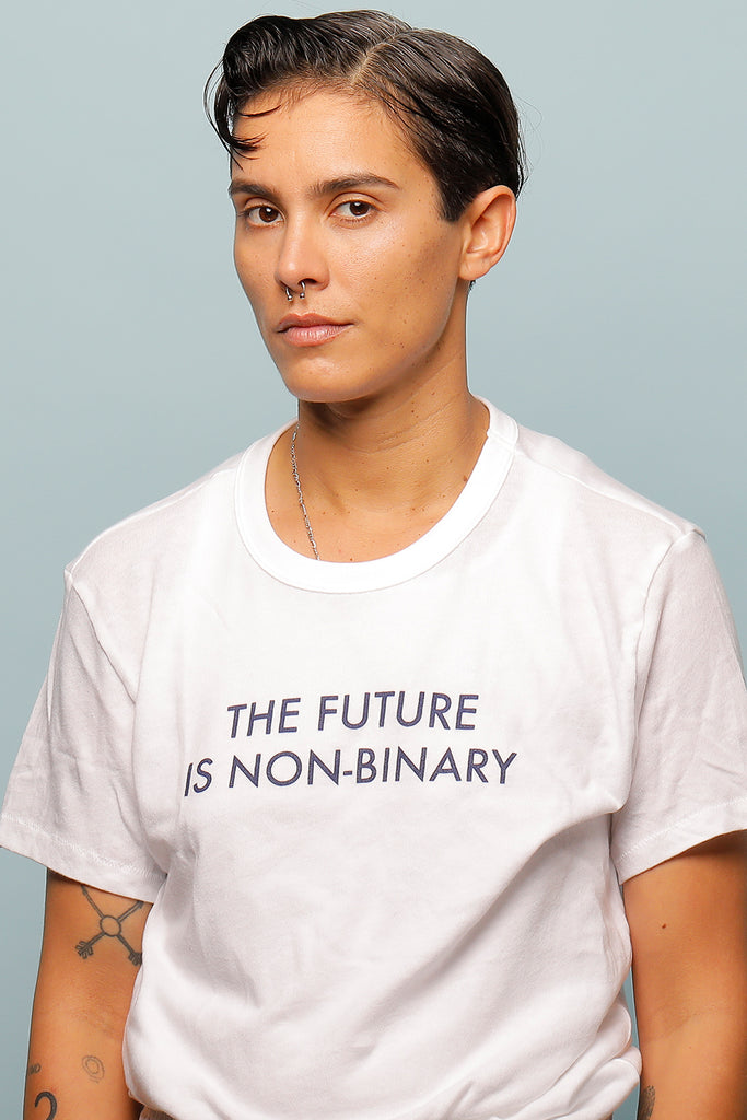 THE FUTURE IS NON-BINARY UNISEX TEE