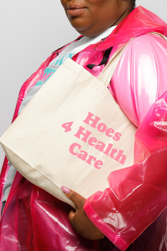 HOES 4 HEALTHCARE TOTE BAG