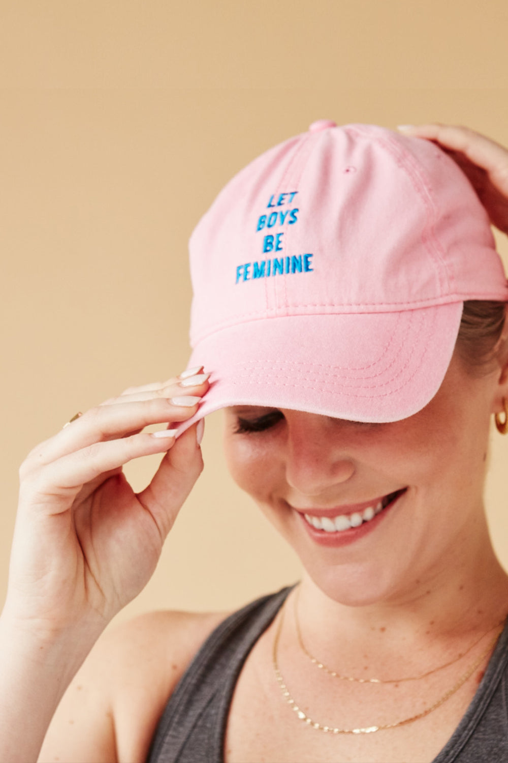 LET BOYS BE FEMININE CAP