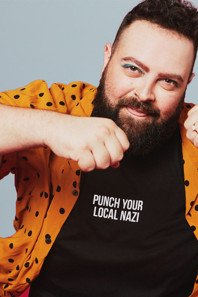 PUNCH YOUR LOCAL NAZI TEE