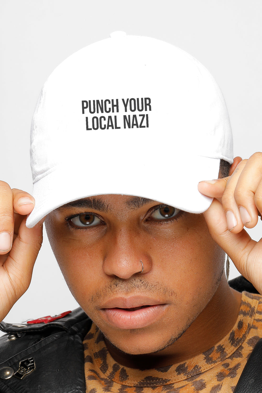 PUNCH YOUR LOCAL NAZI CAP