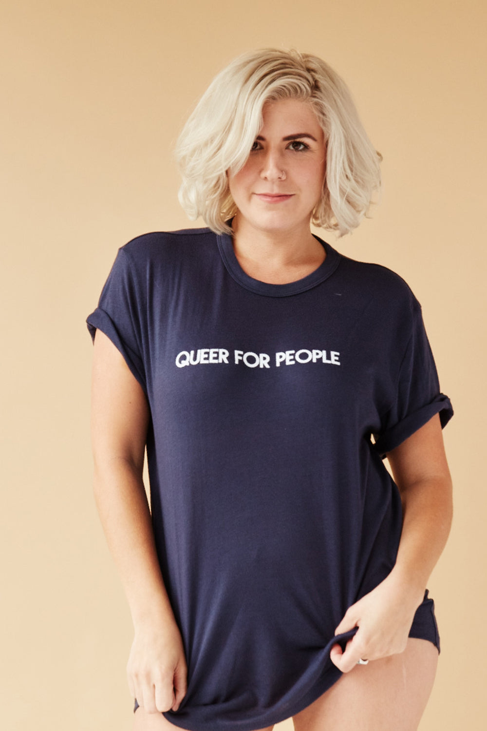 QUEER FOR PEOPLE UNISEX TEE