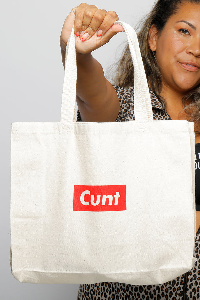 SUPREME CUNT TOTE BAG