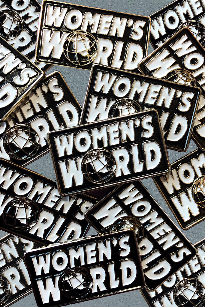 WOMEN'S WORLD PIN