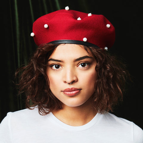 THE CRIMSON WAVE BERET