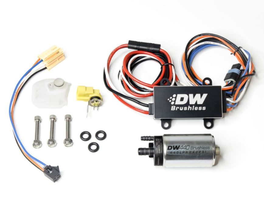 DeatschWerks 440lph In-Tank Brushless Fuel Pump Kit 2014-2019 Fiesta ST