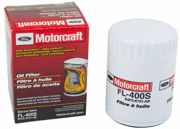 Motorcraft Oil Filter FL-400S for Fiesta ST - Focus ST/RS