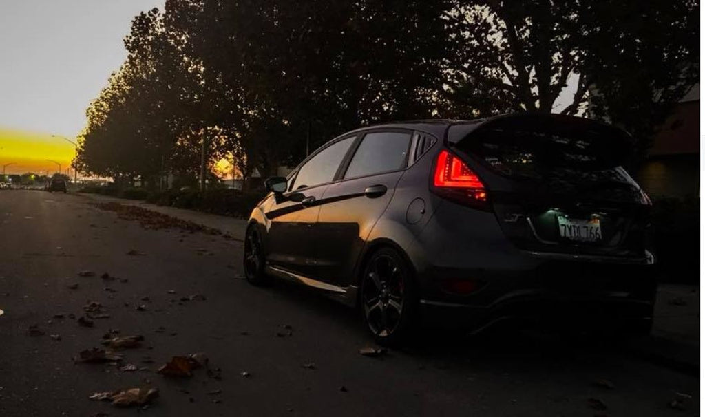 SPEC D Tuning Ford Fiesta LED Tail Lights   3 Colors Available !