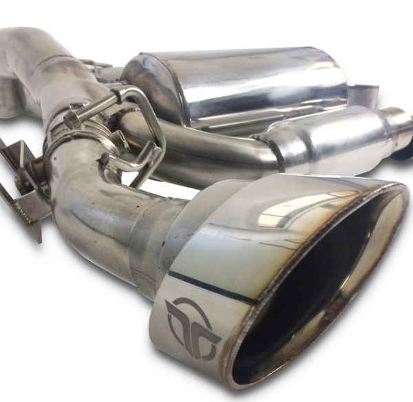 Thermal R&D 2016+ Ford Focus RS cat back exhaust
