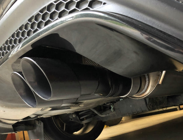 "whoosh spec Thermal R&D 3"" Fiesta ST cat back exhaust 2014+ FREE SHIPPING"