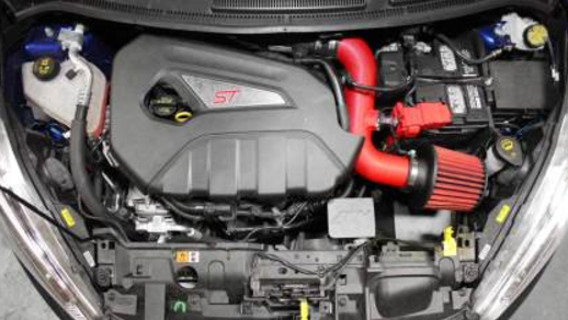 AEM 2014-2015 Ford Fiesta ST 1.6L L4 - Cold Air Intake System - Wrinkle Red