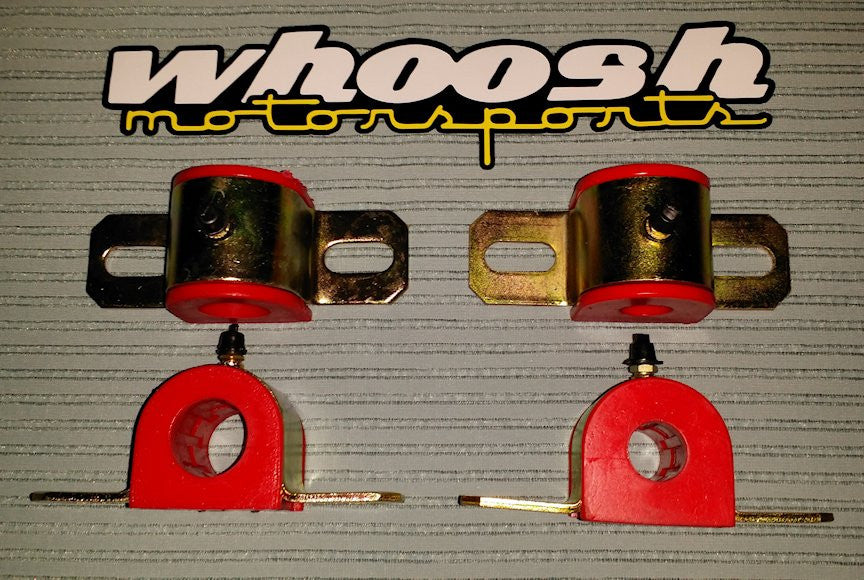 whoosh poly swaybar bushing kits