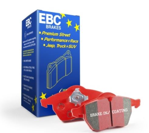EBC 2014+ Ford Fiesta 1.6 Turbo ST Redstuff Front & Rear Brake Pads *FREE SHIPPING*