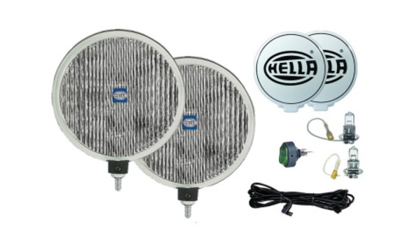 Hella 500 Series 12V H3 Fog Lamp Kit *Universal Fitment*