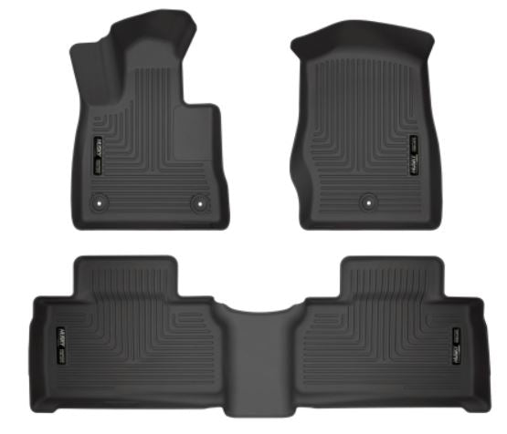 Husky Liners Weatherbeater Black Front & 2nd Seat Floor Liners 2020+ Explorer ST
