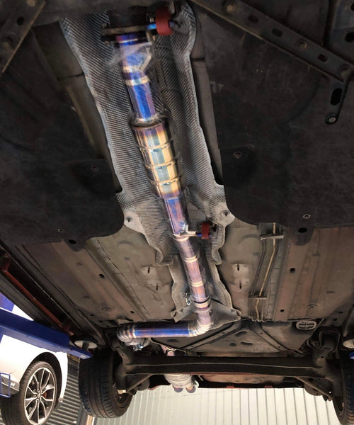 Swave and Summit GT full titanium exhaust system- 2014-2019 Fiesta ST