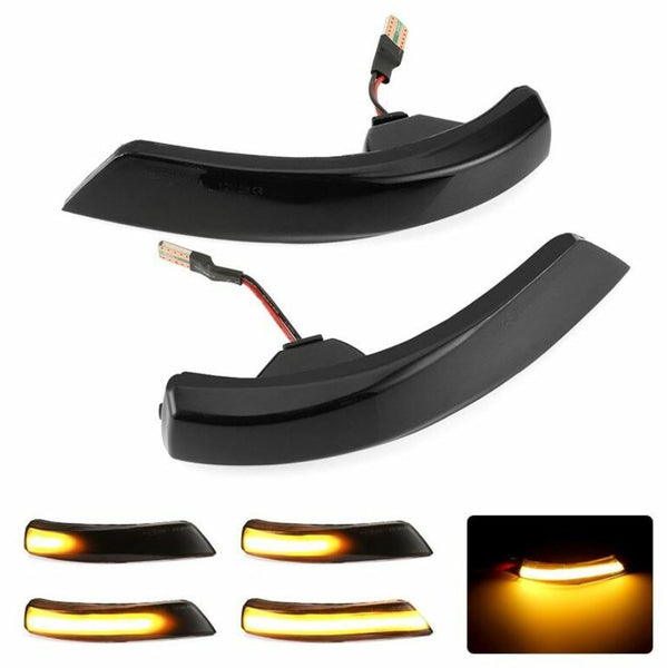 iSincer Side Mirror Turn Signal Dynamic LED Lights 2013-2018 Focus ST