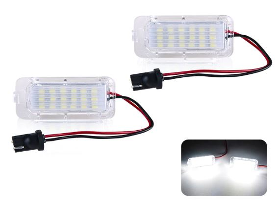 iSincer license Plate Dynamic LED Lights 2013-2018 Focus ST *FREE SHIPPING*