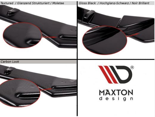 Maxton V1 headlight eyebrows 2014-2019 Fiesta ST