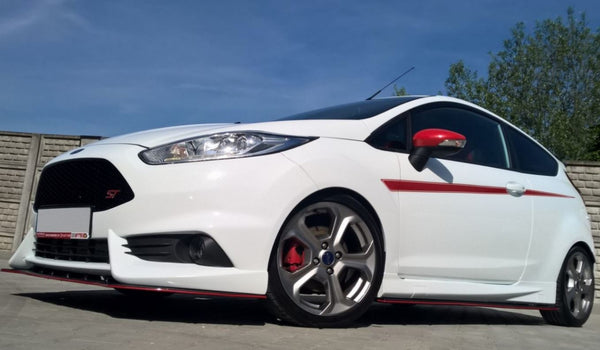 "Maxton Design Front Splitter ""for 1552 cup spoilers"" 2014-2019 Fiesta ST"