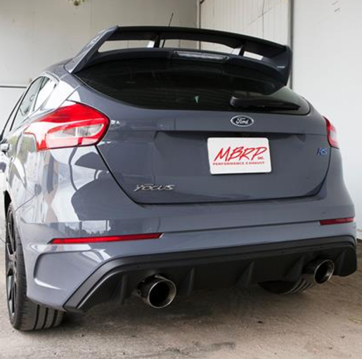 MBRP 2016+ Ford Focus RS 3in Dual Outlet Cat-Back Exhaust T409 SS *FREE SHIPPING*