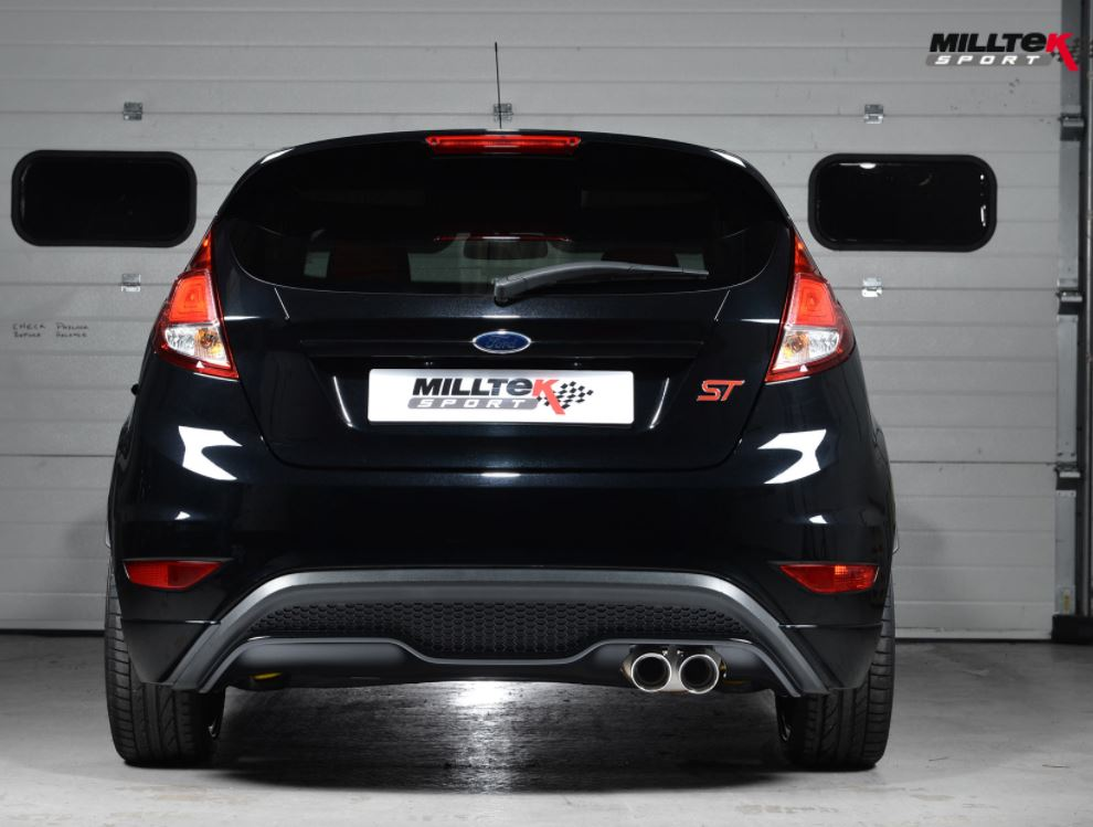 Milltek Back Box Delete (rear exhaust section delete) Fiesta ST 2014+