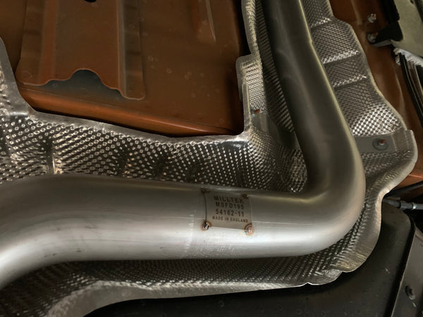"Milltek 2.76"" Fiesta ST US Spec Race cat back exhaust system (non-resonated)  *2 tip styles available!*"