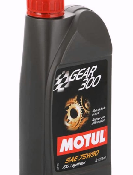Motul 1L Transmission Service: GEAR 300 75W90 - Synthetic Ester *2 Liters  Included*