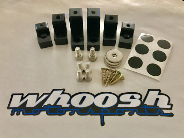 2014+ Fiesta ST whoosh Brand WING RISER KIT *FREE SHIPPING in the USA*