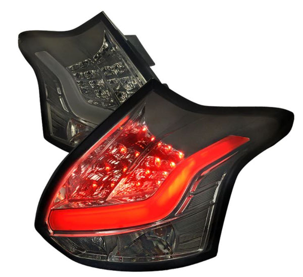 Spec-D LED Tail Lights Ford Focus Pre-Facelift 2013-2014
