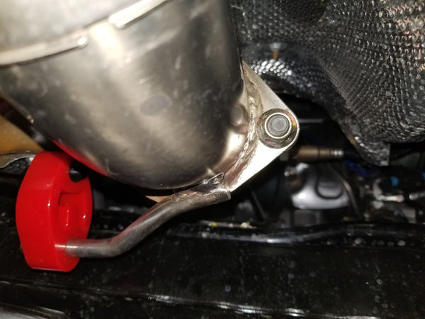 "Thermal R&D 3"" Fiesta ST Exhaust Adapter (connects to 3"" downpipes)"