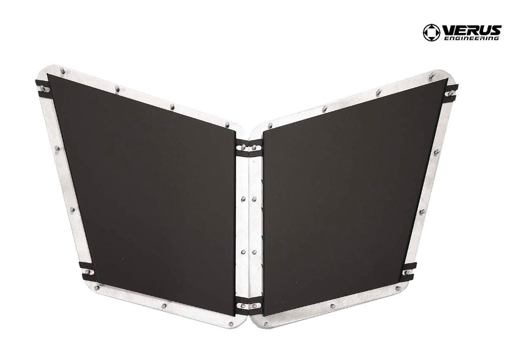 Verus Engineering Hood Louver Rain Guard Kit - Fiesta ST 2014-2018 *FREE SHIPPING*