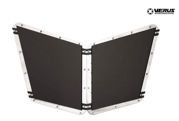 Verus Engineering Hood Louver Rain Guard Kit - Fiesta ST 2014-2018