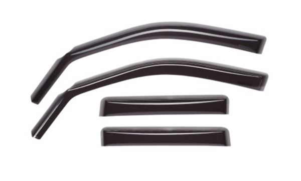WeatherTech 07+ Dodge Caliber Front and Rear Side Window Deflectors - Dark Smoke