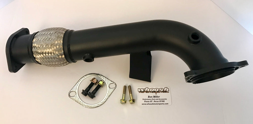 "2014+ whoosh brand Fiesta ST | V2 Ceramic Coated catless downpipe (3"") *FREE SHIPPING*"