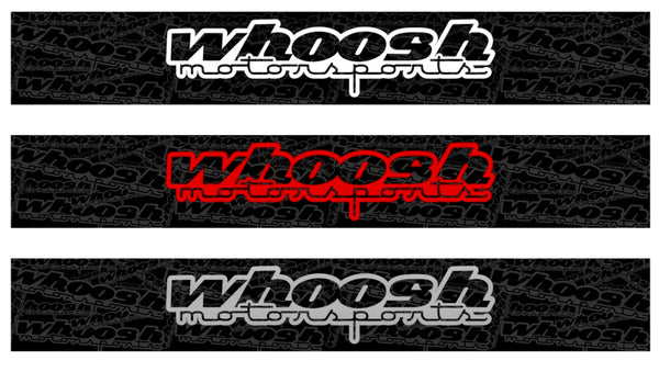 whoosh motorsports Windshield Banner *FREE SHIPPING*