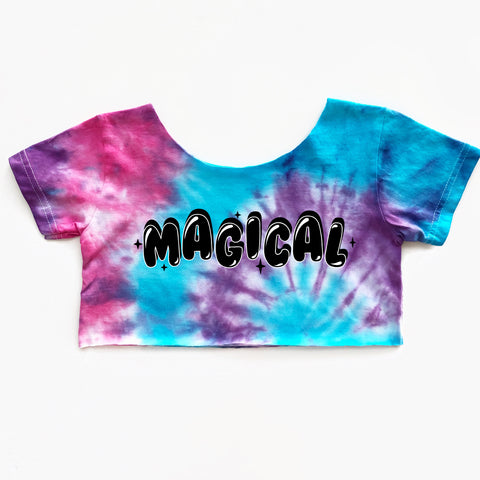 Magical Tie Dye Crop