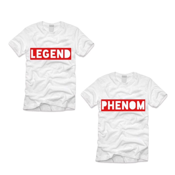 Legend and Phenom Tee Bundle