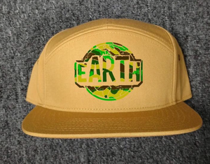 HAT - CAMO EARTH -Tan