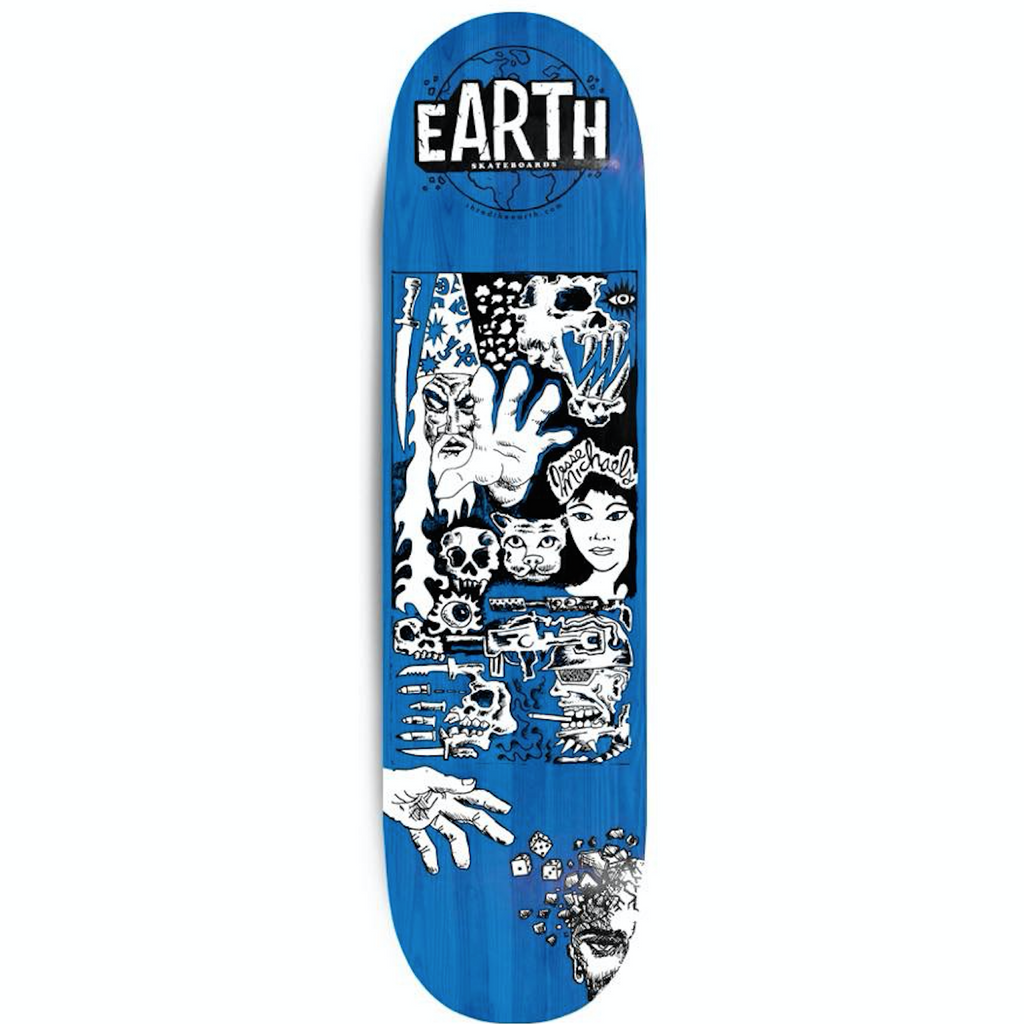 "Jesse Michaels Deck (8.75"") - Limited Edition (Only 100 made)"