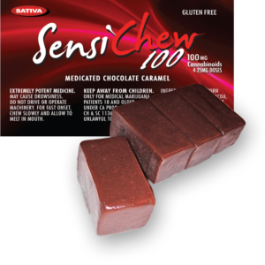 Sensi Chew 100 – Sativa for Daytime