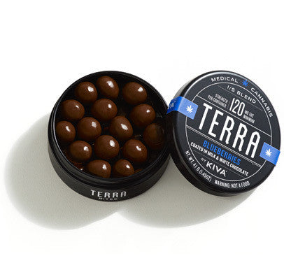 TERRA BITES BLUEBERRIES 120 MG THC