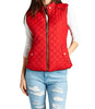 Womens Quilted Vest Jacket Coat
